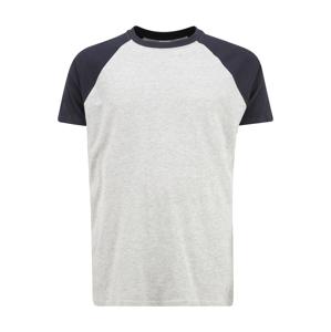 Urban Classics Tričko  námořnická modř / šedý melír
