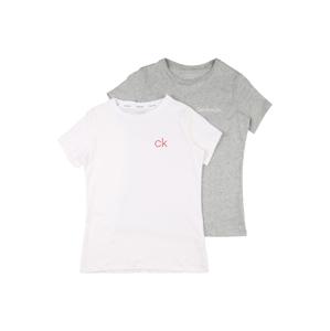 Calvin Klein Underwear Tílko  bílá / šedá / světle růžová