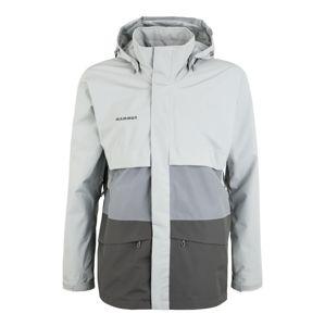 MAMMUT Sportovní bunda  šedá / světle šedá