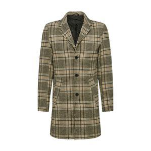 !Solid Přechodný kabát  šedá / oranžová / černá