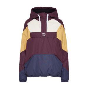 Iriedaily Přechodná bunda  bílá / námořnická modř / zlatě žlutá / vínově červená