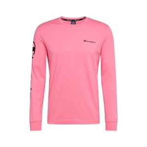 Champion Authentic Athletic Apparel Tričko  pink / černá