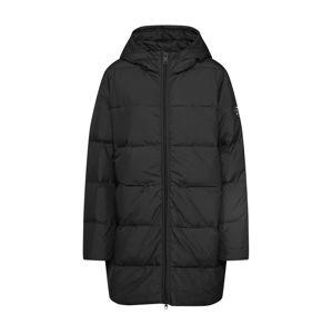 ECOALF Zimní kabát  černá