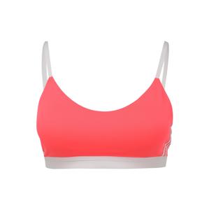 ADIDAS PERFORMANCE Sportovní podprsenka  pink / bílá