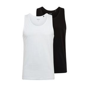 BURTON MENSWEAR LONDON Tričko  černá / bílá