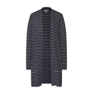 ESPRIT Pletený kabátek  námořnická modř / bílá