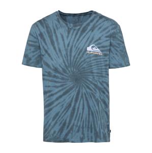 QUIKSILVER Funkční tričko 'EQYZT06343'  pastelová modrá / modrá / bílá / pastelově oranžová