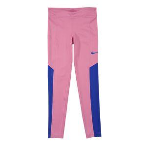 NIKE Sportovní kalhoty 'TROPHY'  modrá / pink