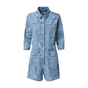 Tommy Jeans Overal  světlemodrá / modrá
