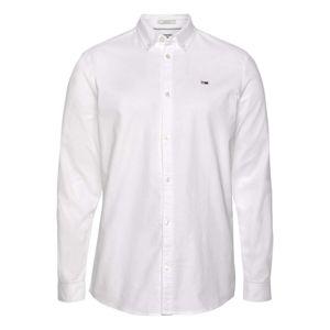 Tommy Jeans Košile 'Oxford'  bílá