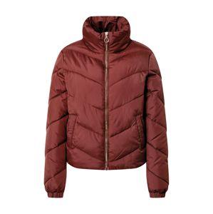 JACQUELINE de YONG Zimní bunda  rezavě červená