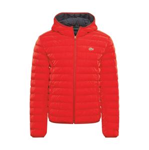 LACOSTE Zimní bunda  červená
