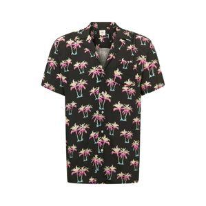 Redefined Rebel Košile 'Carter'  světlemodrá / černá / pink / bílá