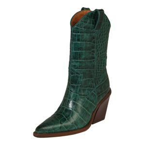 BRONX Kovbojské boty 'NEW-KOLE'  smaragdová