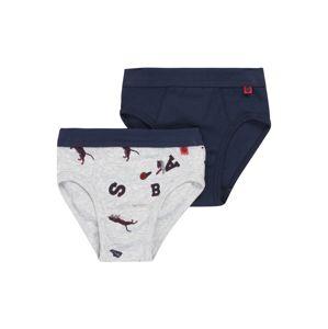 SANETTA Spodní prádlo  červená / šedý melír / modrá