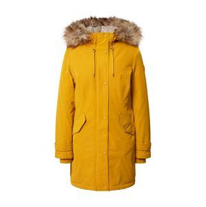 s.Oliver Zimní kabát  žlutá / béžová