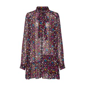 Funky Buddha Košilové šaty  mix barev