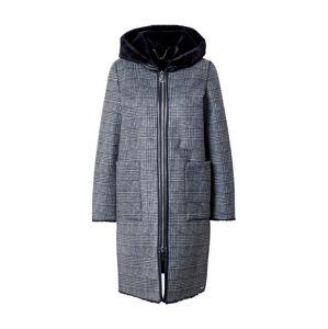 RINO & PELLE Přechodný kabát  tmavě šedá / světle šedá