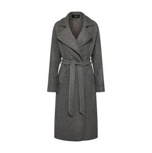 Bik Bok Přechodný kabát  šedý melír
