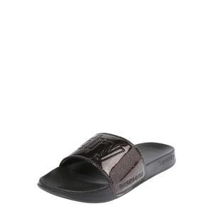 Superdry Plážová/koupací obuv  černá
