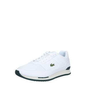 LACOSTE Tenisky 'PARTNER PISTE 01201 SMA'  tmavě zelená / bílá