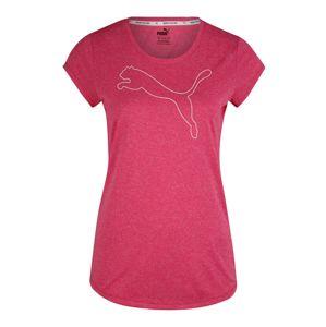 PUMA Funkční tričko 'ELEVATED'  tmavě růžová / béžová