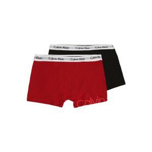 Calvin Klein Underwear Spodní prádlo '2PK TRUNKS'  červená / černá