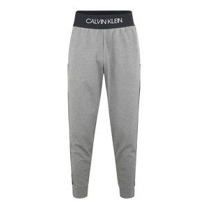 Calvin Klein Performance Sportovní kalhoty  šedý melír