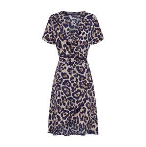 Mela London Šaty  námořnická modř / hnědá