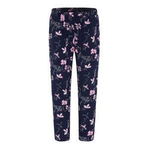 BROADWAY NYC FASHION Kalhoty 'PALOMA'  tmavě modrá / růžová / bílá