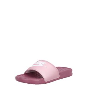 Nike Sportswear Plážová/koupací obuv 'Benassi Just Do It'  růžová / bobule