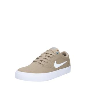 Nike SB Tenisky  bílá / světle hnědá