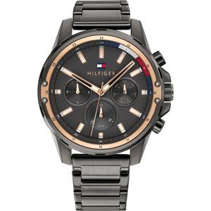 TOMMY HILFIGER Analogové hodinky 'Mason'  antracitová