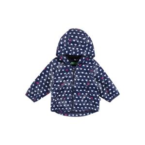 UNITED COLORS OF BENETTON Přechodná bunda  tmavě modrá / bílá / pink