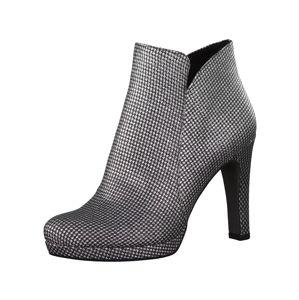 TAMARIS Kotníkové boty  stříbrná