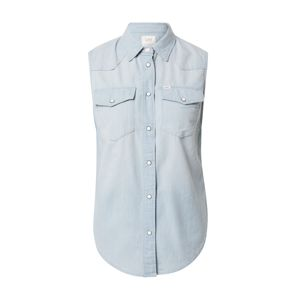 Lee Top 'SLEEVELESS SHIRT'  modrá