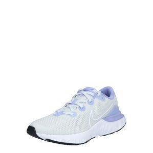 NIKE Sportovní boty  světlemodrá / bílá