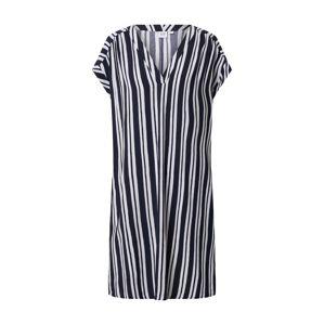 GAP Šaty 'V-SS VNK DRESS'  bílá / námořnická modř