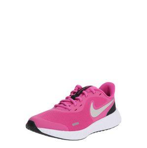 NIKE Sportovní boty 'Revolution 5'  fuchsiová