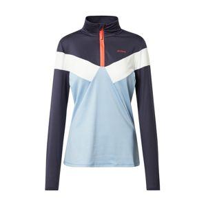 PROTEST Sportovní mikina 'Irene'  oranžová / tmavě modrá / světlemodrá