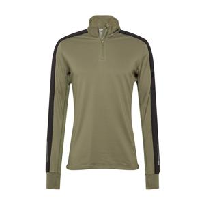 ADIDAS PERFORMANCE Funkční tričko  olivová / černá / světle šedá