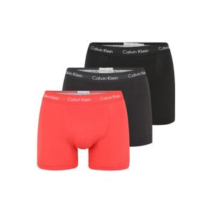Calvin Klein Underwear Boxerky  černá / korálová / šedá