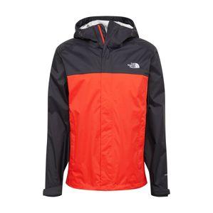 THE NORTH FACE Outdoorová bunda 'VENTURE'  černá / červená