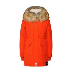 Calvin Klein Jeans Přechodová parka  oranžově červená