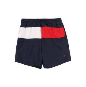 TOMMY HILFIGER Plavky  modrá / červená / bílá