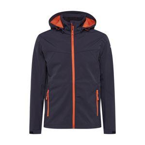 ICEPEAK Sportovní bunda  antracitová / oranžově červená