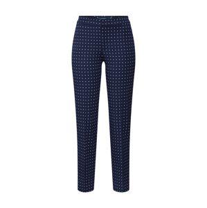 Lauren Ralph Lauren Kalhoty s puky 'LYCETTE'  námořnická modř / bílá