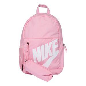 Nike Sportswear Batoh  pink / bílá