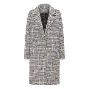 BROADWAY NYC FASHION Přechodný kabát 'SHERALIN'  béžová / světle šedá