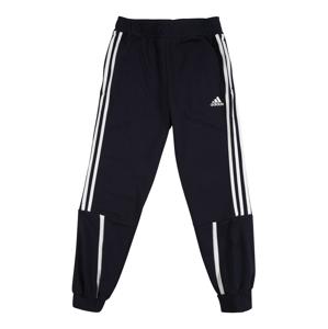 ADIDAS PERFORMANCE Sportovní kalhoty  bílá / námořnická modř